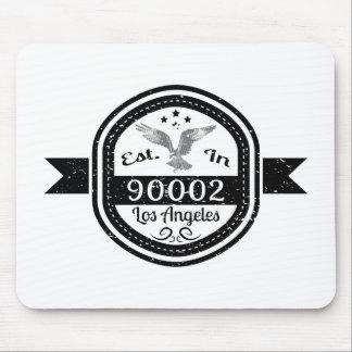 Establecido en 90002 Los Ángeles Alfombrilla De Ratón