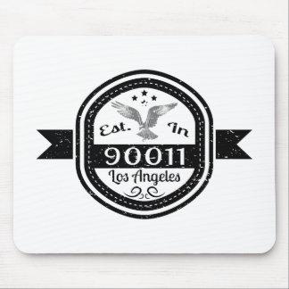 Establecido en 90011 Los Ángeles Alfombrilla De Ratón