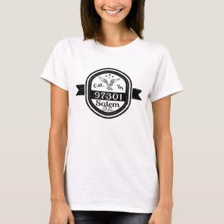 Establecido en 97301 Salem Camiseta