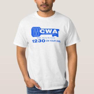 Estación 1230 de música de los años 60 de WCWA Camisetas