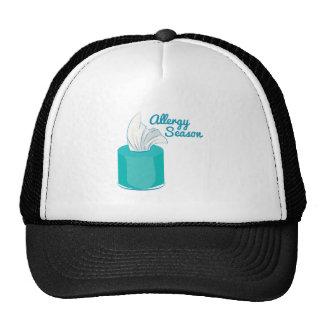 Estación de la alergia gorra