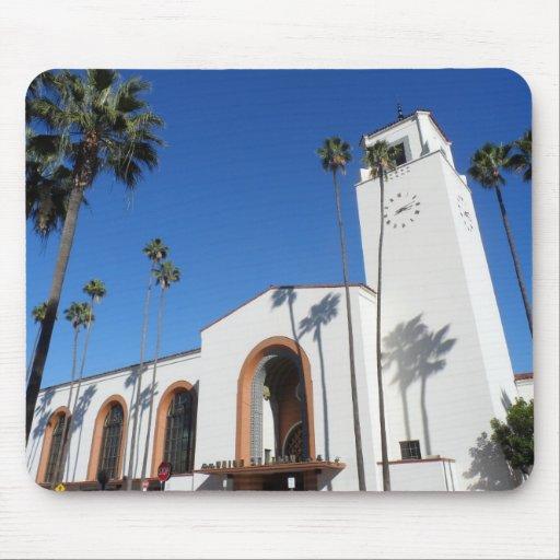 Estación de la unión de Los Ángeles Alfombrilla De Ratones