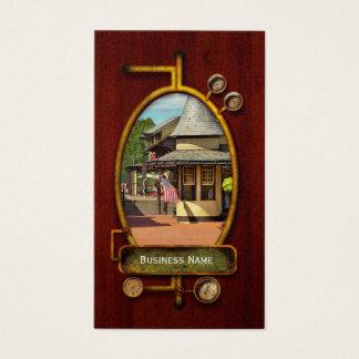 Estación de tren - habrá siempre esperanza tarjeta de negocios