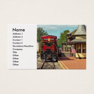 Estación de tren - habrá siempre esperanza tarjeta de visita