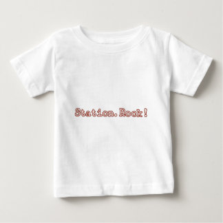 Estación. ¡Roca! Funcionario Camiseta De Bebé