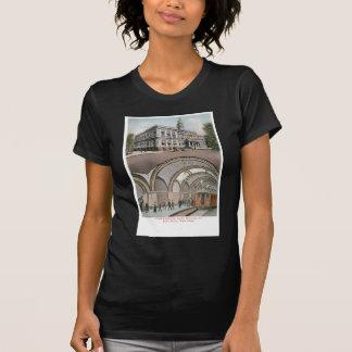 Estación subterráneo del lazo en ayuntamiento, camisetas