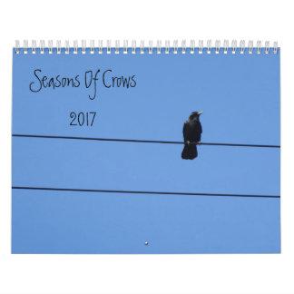Estaciones de cuervos calendarios