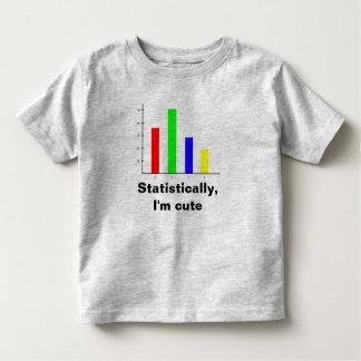 Estadísticas divertidas camisetas