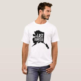Estado de Alaska la camiseta pasada de la frontera