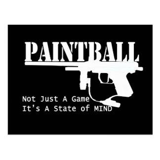 Estado de ánimo de Paintball Postal