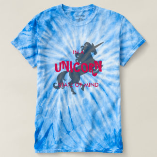 Estado de ánimo del unicornio camiseta
