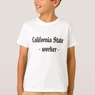 Estado de California    - trabajador - Camiseta