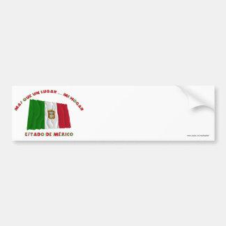 Estado de México - la O.N.U Lugar… MI Hogar de Más Pegatina Para Coche