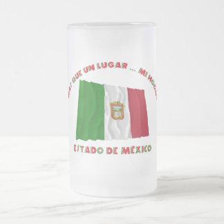Estado de México - la O.N.U Lugar… MI Hogar de Más Taza Cristal Mate
