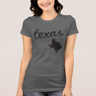 Estado de Tejas en las señoras grises Camiseta