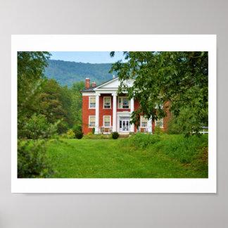Estado de Warwickton, valle ocultado, Virginia Póster