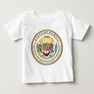 Estado del gran sello de Hawaii Camiseta De Bebé