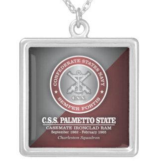 Estado del Palmetto del CSS (SF) Colgante Cuadrado