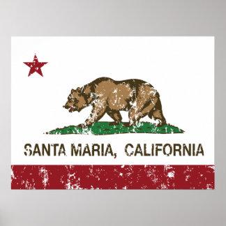 Estado Santa María de California Impresiones
