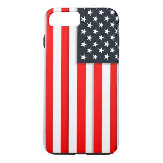 Estado unido simple de la bandera de América los Funda iPhone 7 Plus