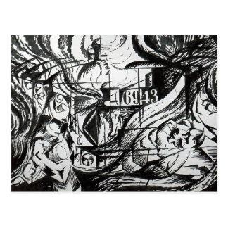 Estados de ánimo: Los adióses de Umberto Boccioni Postales