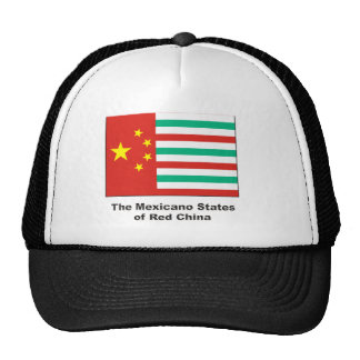 Estados mexicanos de China roja Gorro