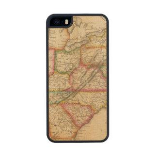 Estados Unidos 11 Funda De Madera Para iPhone SE/5/5s