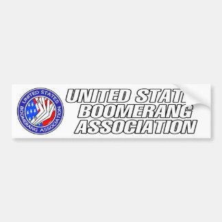 Estados Unidos Boomerang a la pegatina para el