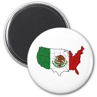 Estados Unidos de México Imán Redondo 5 Cm