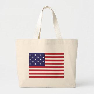 Estados Unidos protagonizan la bandera Spangled de Bolsa Tela Grande