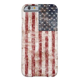 Estados Unidos rústicos señalan por medio de una Funda Barely There iPhone 6