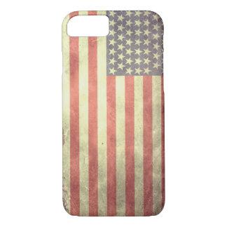 Estados Unidos señalan por medio de una bandera Funda Para iPhone 8/7
