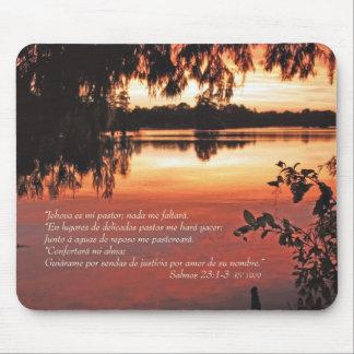 Estafa 1-3 Puesta de Salmos 23 del Sol Tapetes De Raton