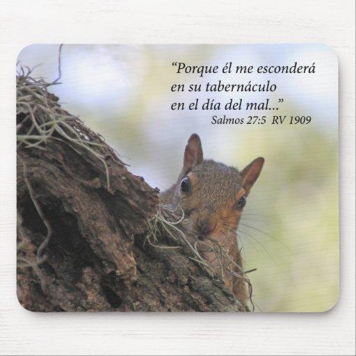 Estafa Ardilla de Salmos 27-5 Tapetes De Raton