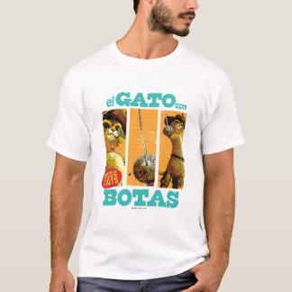 Estafa Botas del EL Gato Camiseta