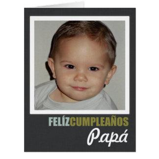 Estafa Foto de Feliz Cumpleaños Personalizada Tarjeta De Felicitación Grande