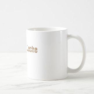 Estafa Leche del café Taza Básica Blanca
