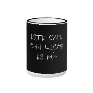 ESTAFA LECHE ES DEL CAFÉ DE ESTE MIO…. TAZA DE DOS COLORES