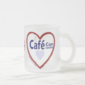 Estafa Leche - taza helada de Café del amor