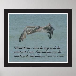 Estafa Pelicano cártel del 17 8 de Salmos Poster