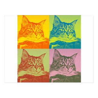 Postales de gatos