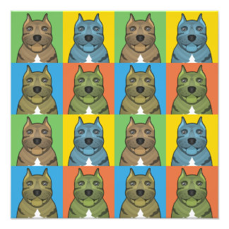 Estallido-Arte del dibujo animado del perro de Pre Arte Fotográfico