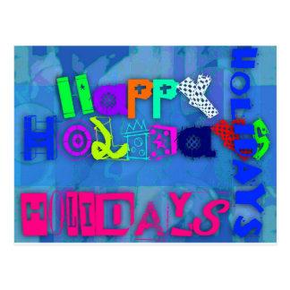 Estallido buenas fiestas 2015 - 2016 postal