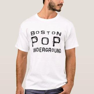 Estallido de Boston subterráneo - logotipo del Camiseta