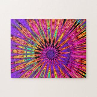 Estallido del espiral del fractal puzzle
