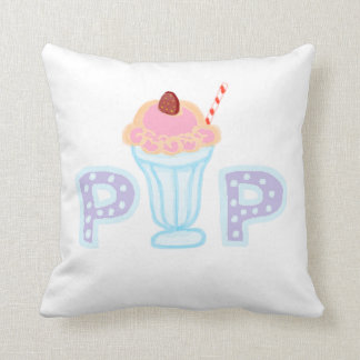 Estallido púrpura del helado almohadas