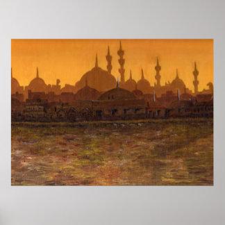 Estambul Türkiye/Turquía Póster