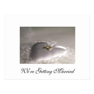 Estamos consiguiendo casados postal