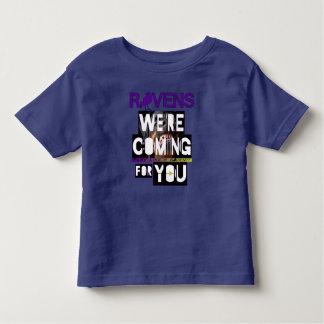 ¡Estamos viniendo para usted! Camiseta De Bebé