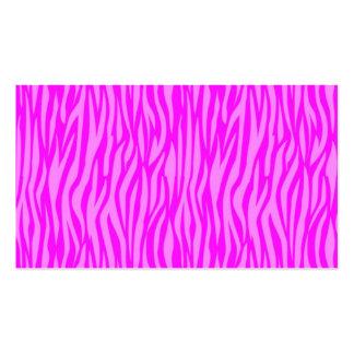 estampado de animales abstracto, rosado plantillas de tarjetas de visita